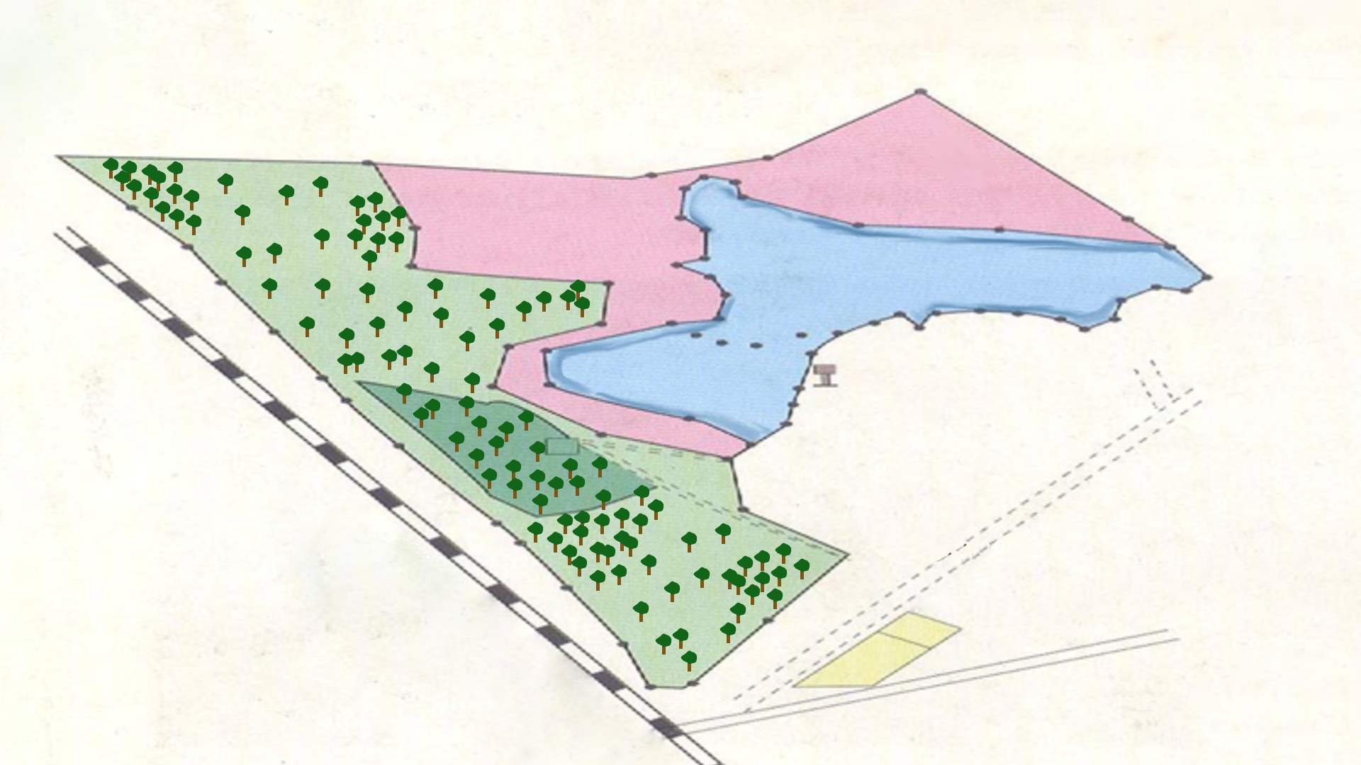 Blueprint of Nelapattu Bird Sanctuary