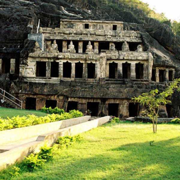 Undavalli Cave