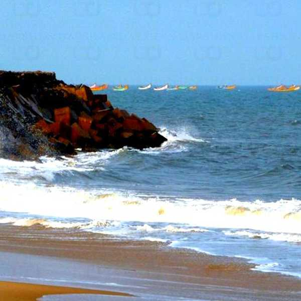 Coringa-Uppada Beach